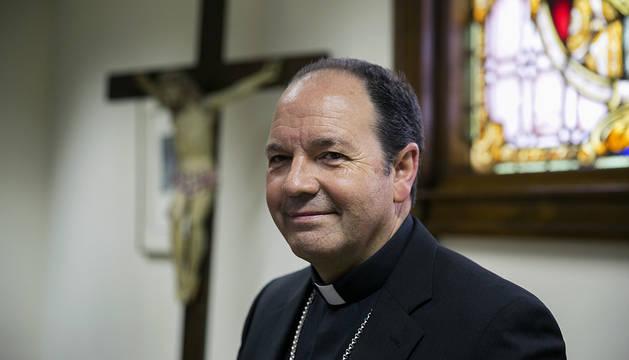 El obispo navarro de Vitoria, Juan Carlos Elizalde.