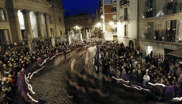 Las cofradías salieron a la calle el viernes 25 de marzo para celebrar la tradicional procesión de Semana Santa del Viernes Santo, organizada por la Hermandad de la Pasión del Señor.