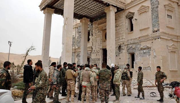 El Ejército sirio consigue reconquistar la ciudad de Palmira