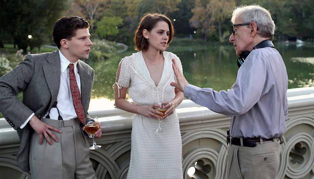 Una escena de la película 'Café Society'.