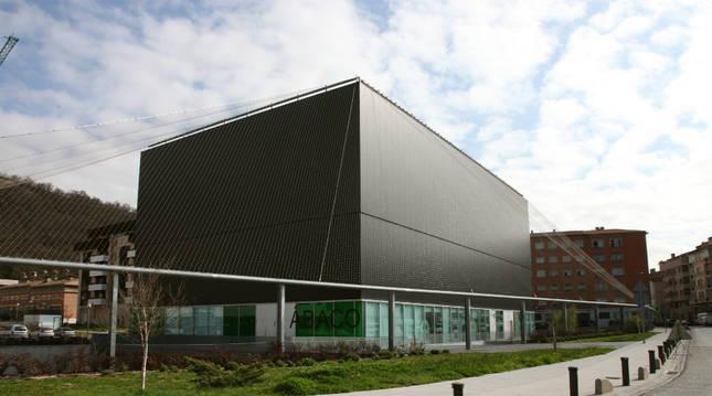 Imagen de la fachada del edificio del Centro Huarte.