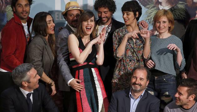 Photocall de la película, 'Kiki, el amor se hace', de Paco León.