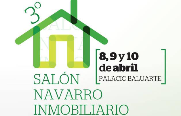 Cartel del III Salón Navarro Inmobiliario.