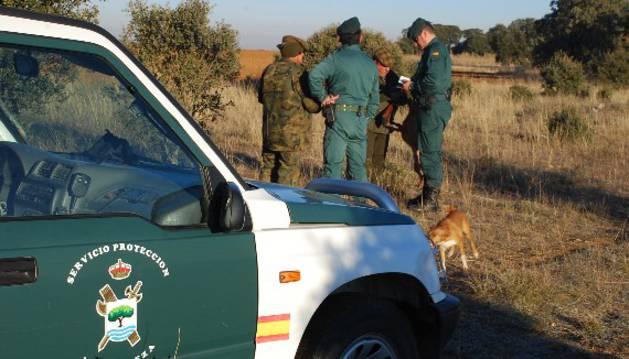El Seprona impuso en Navarra 49 sanciones en la campaña de caza