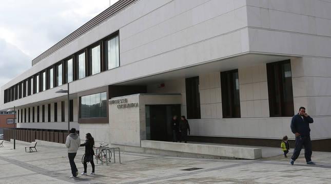 El centro de salud de Buztintxuri.