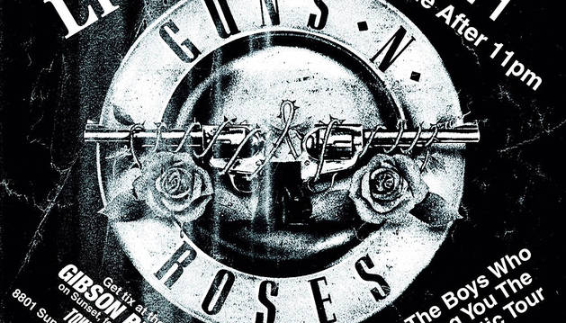 Guns N' Roses anuncia un concierto sorpresa para hoy en Los Ángeles