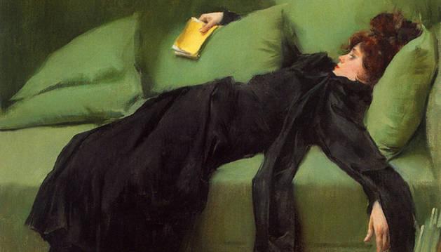 'Joven decadente', de Ramón Casas.