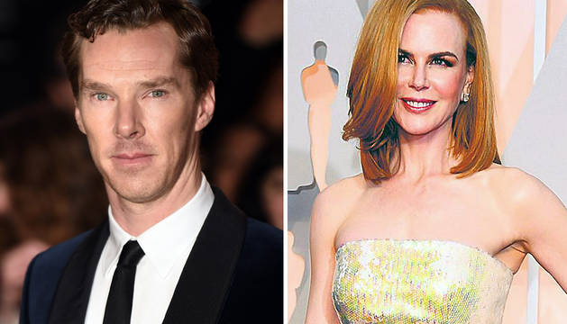 Benedict Cumberbatch y Nicole Kidman.
