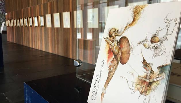 Una exposición de grabados celebra el 400 aniversario de Cervantes y Shakespeare