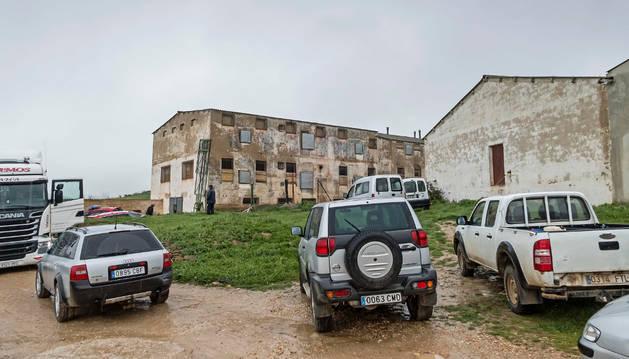 La granja de pollos donde tuvo lugar el accidente mortal.