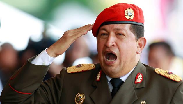 El expresidente venezolano Hugo Chávez.