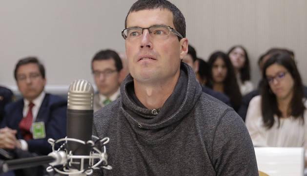Jorge Olaiz, durante el juicio.