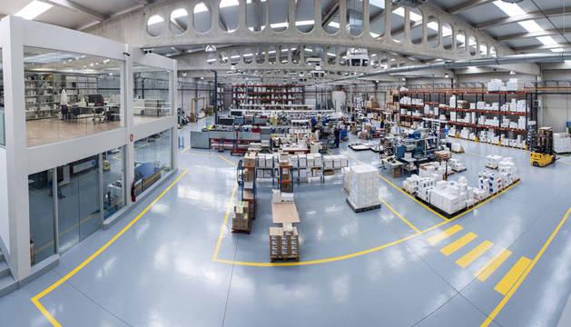 Fábrica de etiquetaje industrial del Grupo Albéniz