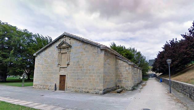 Exterior del Polvorín de la Ciudadela.