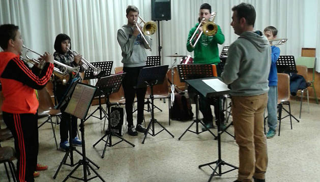 Un centenar de escolares de San Adrián participa en las Primaveras Musicales