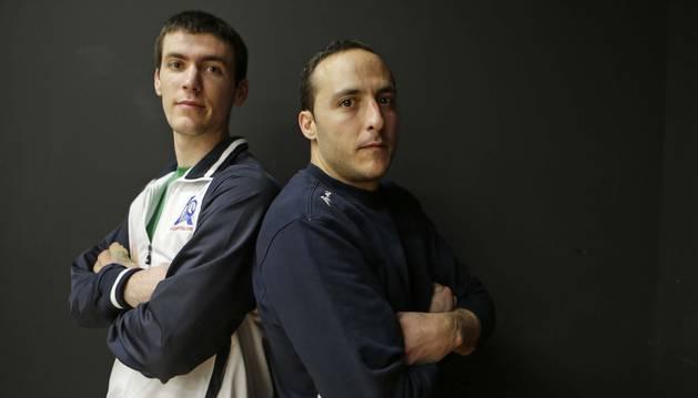 El poder de Beñat Rezusta con la zurda más la calidad y el espíritu competitivo de Juan Martínez de Irujo convierten a los pelotaris de Aspe en candidatos a la txapela.