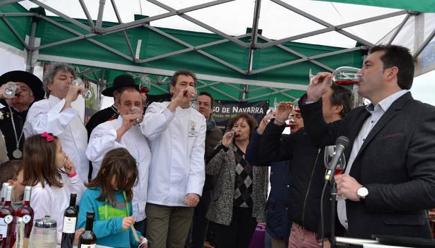 El espárrago de Navarra revalida en Lodosa su valor como motor de la economía