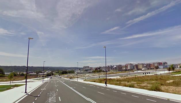 Calle de Lugo donde ha sido encontrado el cadáver.