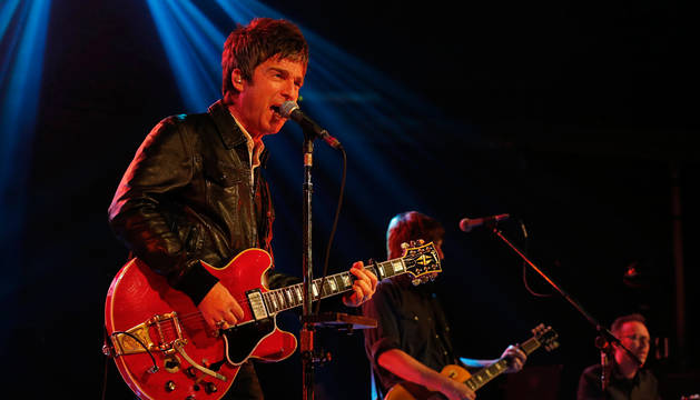 Noel Gallagher, en La Riviera.