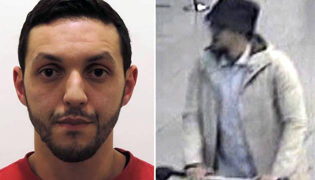 Abrini, uno de los terroristas de los atentados en el aeropuerto de Bruselas.