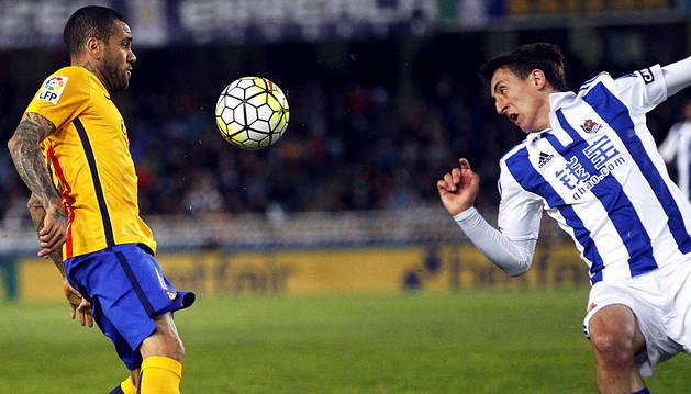 Oyarzabal y Rulli se bastan para animar la Liga
