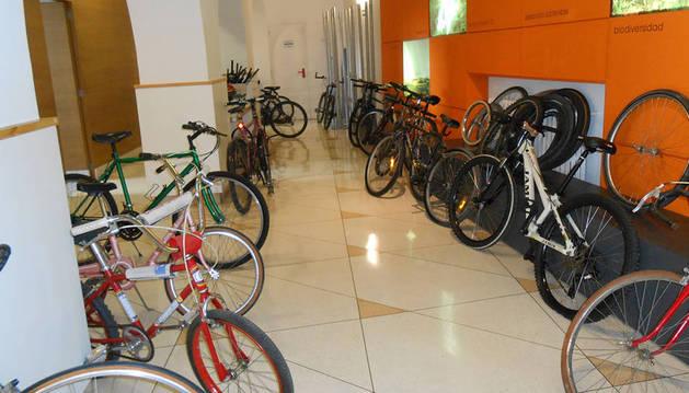 Edición anterior del mercadillo de bicicletas.