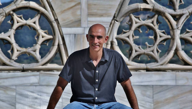 Alfredo Sanzol, en julio de 2015, cuando presentó 'Edipo Rey'.