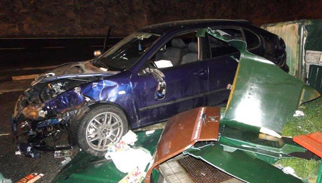 Accidente en la calle Concepción Benítez.