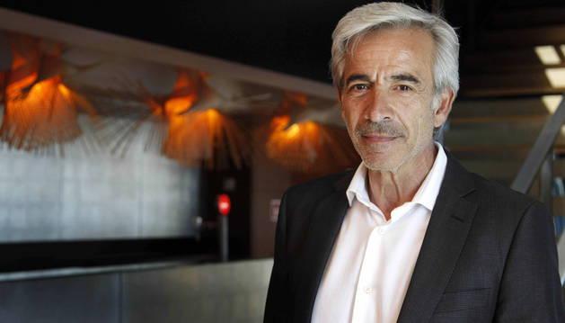 lmanol Arias, durante el encuentro de los galardonados con los Premios Sant Jordi.