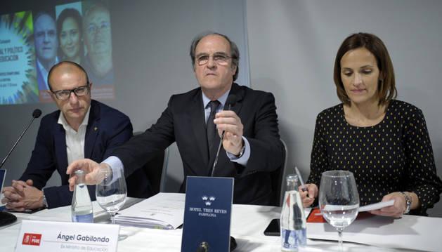 El exministro de Educación y portavoz socialista en la Asamblea de Madrid, Ángel Gabilondo.