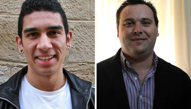Los ediles Luis Gabriel Díaz y Fran Legaz.