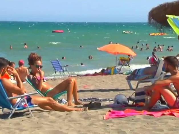 Turismo de sol, playa y seguridad social