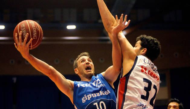 Txemi Urtasun, en un partido de la Liga ACB.