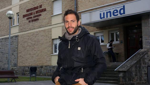 Javier Morentin Encina, pamplonés de 31 años.