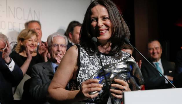 La actriz Aitana Sánchez-Gijón, Premio Valle-Inclán de Teatro