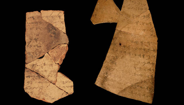 Fragmentos de la fortaleza de la Edad de Hierro de Arad.