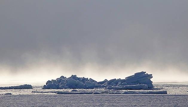 Imagen de 'El Ártico se rompe'.