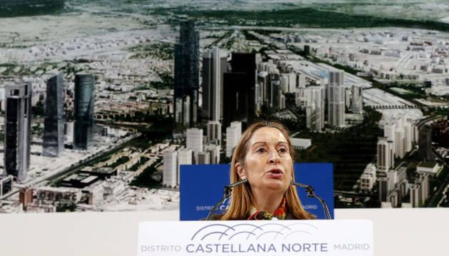La operación Chamartín planea levantar en Madrid el mayor rascacielos de UE