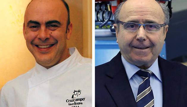 Koldo Rodero y Manuel Torres, dos de los galardonados.