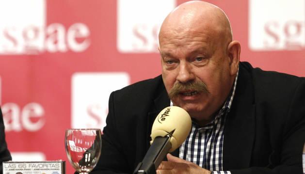 El veterano periodista José María Íñigo.