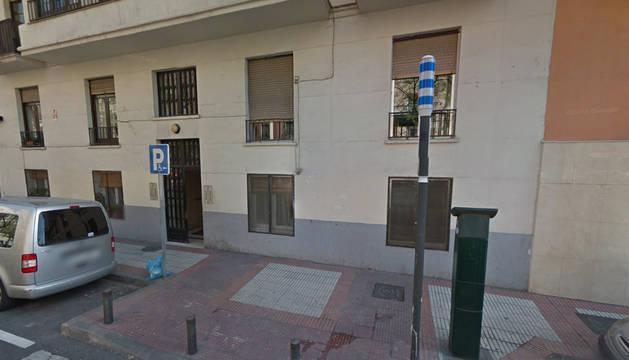 El suceso tuvo lugar en el número 24 de la calle del Alcalde Sainz de Baranda.