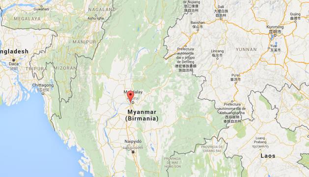Un seísmo de 6,9 grados sacude el noroeste de Birmania