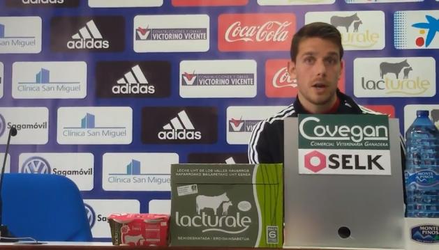 Manuel Sánchez, en rueda de prensa.