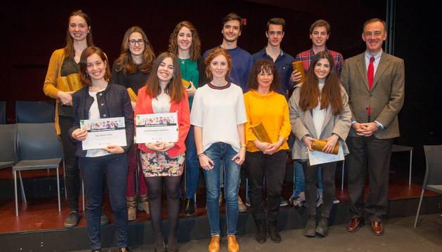Adriana Pueyo y Scherezade Garrido obtienen el Premio al Alumno más Cultural