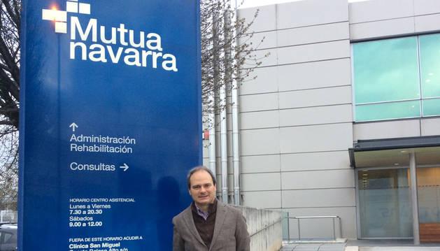 Rafael Mayorga es coordinador de Promoción de la Salud en Mutua Navarra.