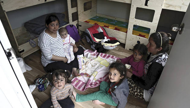 Cruz Roja Navarra prevé acoger en breve a otros 20 refugiados