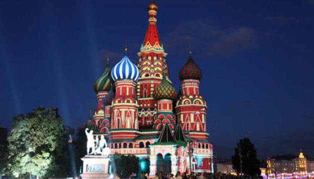La Plaza Roja de Moscú, uno de los lugares a visitar en el viaje a Rusia.