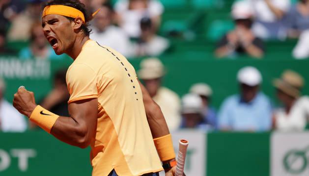 Nadal remonta ante Murray y disputará su décima final en Montecarlo
