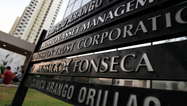 Vista general de la sede de la firma Mossack Fonseca.