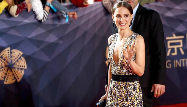 Natalie Portman, en el Festival Internacional de Cine de Pekín.